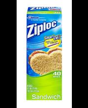 Ziploc® Sandwich Bags 40 ct