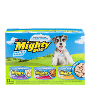 Purina Mighty Dog Hearty Pulled-Style Chicken Dinner in Gravy...