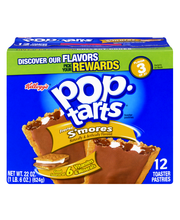 Kellogg's® Pop-Tarts® Frosted S'mores Toaster Pastries 22 oz....