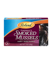 Roland Smoked Mussels