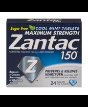 Zantac 150® Maximum Strength Cool Mint Acid Reducer 150mg Tab...