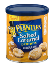 Planters Salted Caramel Peanuts 6 oz. Canister