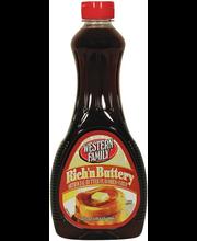 Wf Pancake Syrup Butter