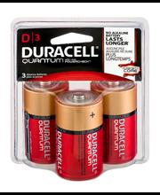 Duracell Quantum D Alkaline Batteries - 3 CT