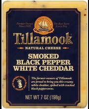Tillamook® Smoked Black Pepper White Cheddar Natural Cheese 7...