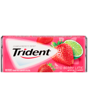Trident Island Berry Lime Sugar Free Gum with Xylitol 18 Stic...