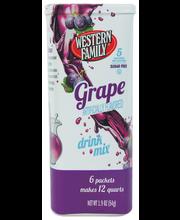 Wf Grape Drink Mix