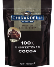 Ghirardelli® 100% Unsweetened Baking Cocoa 8 oz. Stand-up Bag