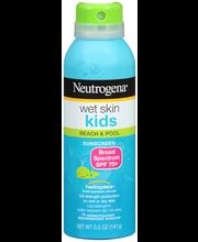 Neutrogena® Wet Skin Kids Beach & Pool Sunscreen Broad Spectr...