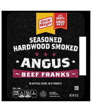 Oscar Mayer Seasoned Hardwood Smoked Angus Beef Franks 6 ct Pack
