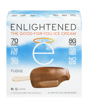 Enlightened The Good-For-You Ice Cream Low Fat Ice Cream Bars...