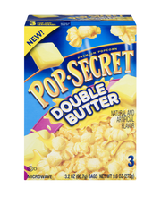 Pop Secret® Double Butter Popcorn 3-3.2 oz. Bags