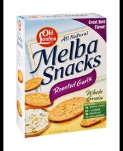 Old London® Melba Snacks Roasted Garlic 5.25 oz. Box