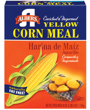 Albers® Enriched & Degermed Yellow Corn Meal 40 oz. Box