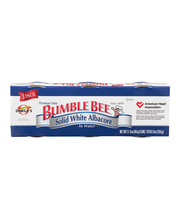 Bumble Bee® Solid White Albacore in Water 3-3 oz. Pack Sleeve