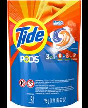 Tide® PODS Original Scent Laundry Detergent Pacs 31 ct Bag