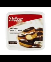 Delizza Patisserie Belgian Mini Eclairs- 30 CT