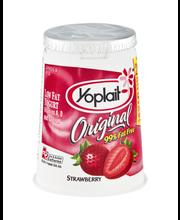 Yoplait® Original Strawberry Low Fat Yogurt 6 oz. Cup