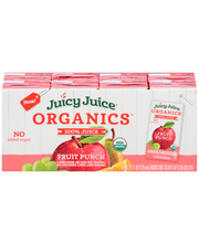 Juicy Juice® Organics™ Fruit Punch 100% Juice 8-4.23 fl. oz. ...