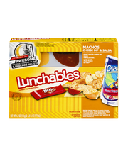Lunchables Nachos Cheese Dip & Salsa Lunch Combinations 4.7 o...