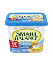 Smart Balance® Light Buttery Spread with Flaxseed Oil 15 oz. Tub