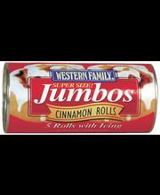 Wf 5 Jumbo Cinnamon Rolls