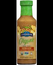 Litehouse® Organic Ginger with Honey 12 fl. oz. Bottle