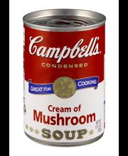 Campbell's® Condensed Cream of Mushroom Soup, 10.5 oz.