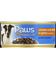 PAWS HAPPY LIFE DOG FD CHKN/GRVY