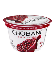 Chobani® Pomegrante on the Bottom Non-Fat Greek Yogurt 5.3 oz...