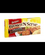 Banquet Brown 'N Serve Sausage Patties Original - 8 CT