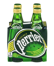 PERRIER Sparkling Natural Mineral Water, 11.15-ounce glass bo...