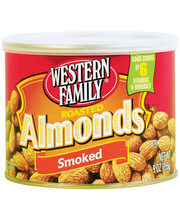Wf Nuts Almnd Rst Smoked Can