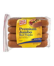 Oscar Mayer Jumbo Angus Beef Franks 8 ct Pack