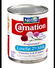 Nestle Carnation Lowfat 2% Evaporated Milk
