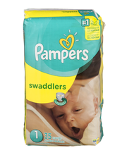 Pampers Swaddlers Size 1 Diapers 35 ct Pack