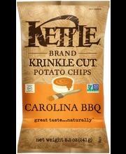 Kettle Brand® Krinkle Cut™ Carolina BBQ Potato Chips 8.5 oz. Bag