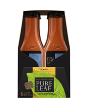 Lipton Pure Leaf® Lemon Tea 6-18.5 fl. oz. Plastic Bottles