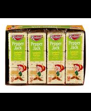 Keebler Pepper Jack Sandwich Crackers - 8 CT