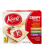 Kavli Whole Grain Crispbread Crispy Thin All Natural