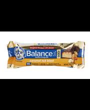 Balance Bar Gold Nutrition Energy Bar Caramel Nut Blast