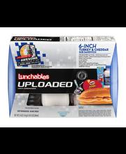 Lunchables Uploaded 6-inch Turkey & Cheddar Sub Sandwich Lunc...
