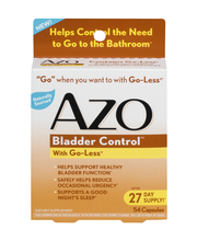 AZO Bladder Control With Go-Less - 54 CT