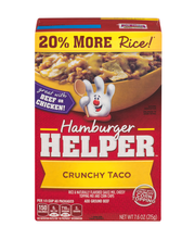 Betty Crocker™ Crunchy Taco Hamburger Helper™ 7.6 oz. Box