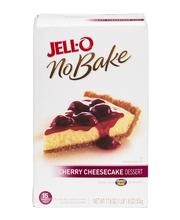 Jell-O® No Bake Cherry Cheesecake Dessert Mix 17.8 oz. Box