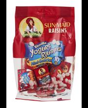 Sun-Maid® Mini-Snacks® Vanilla Yogurt Raisins 10 ct Boxes