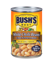 Bush's Best® White Chili Beans Great Northern Beans in Mild C...
