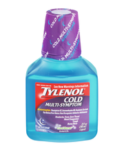 Tylenol® Cold Max Multi-Symptom Night Cool Burst Liquid 8 fl....