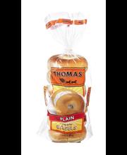 Thomas' Plain Bagels - 6 PK