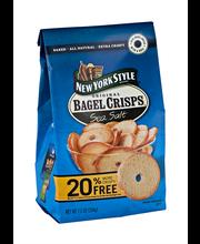 New York Style® Bagel Crisps® Sea Salt Bagel Chips 7.2 oz. Stand-Up Bag